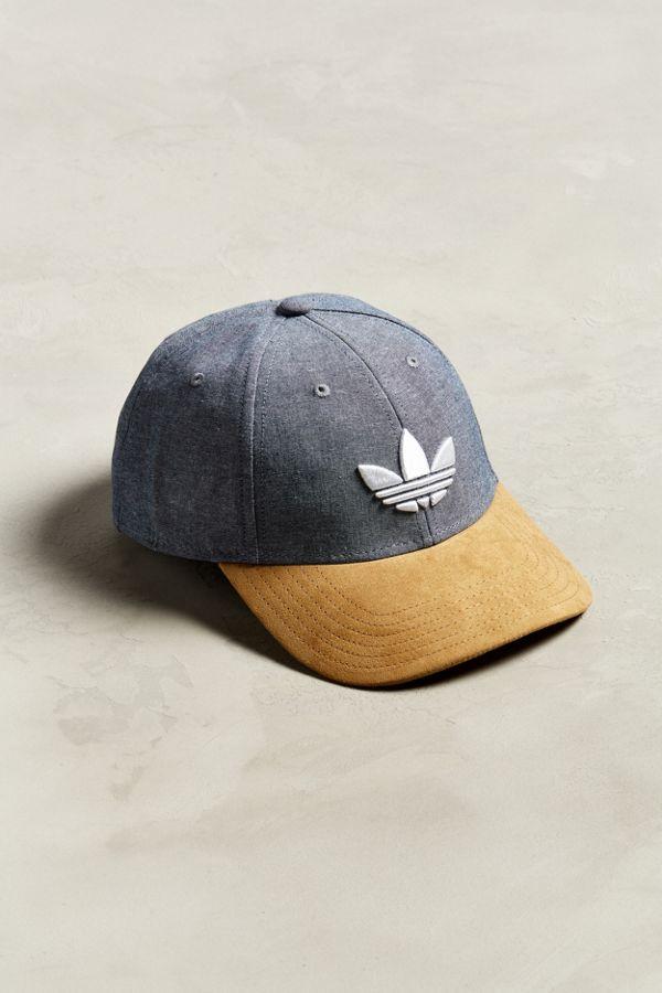 74673104f20e64 adidas Originals Trefoil Plus Snapback Hat | Urban Outfitters