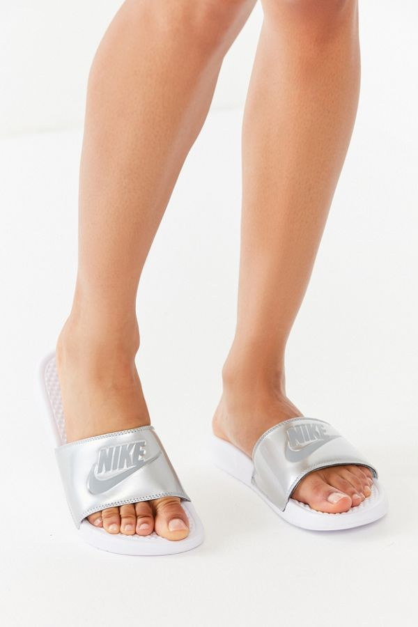 1e11560ba816 Nike Benassi JDI Metallic Slide