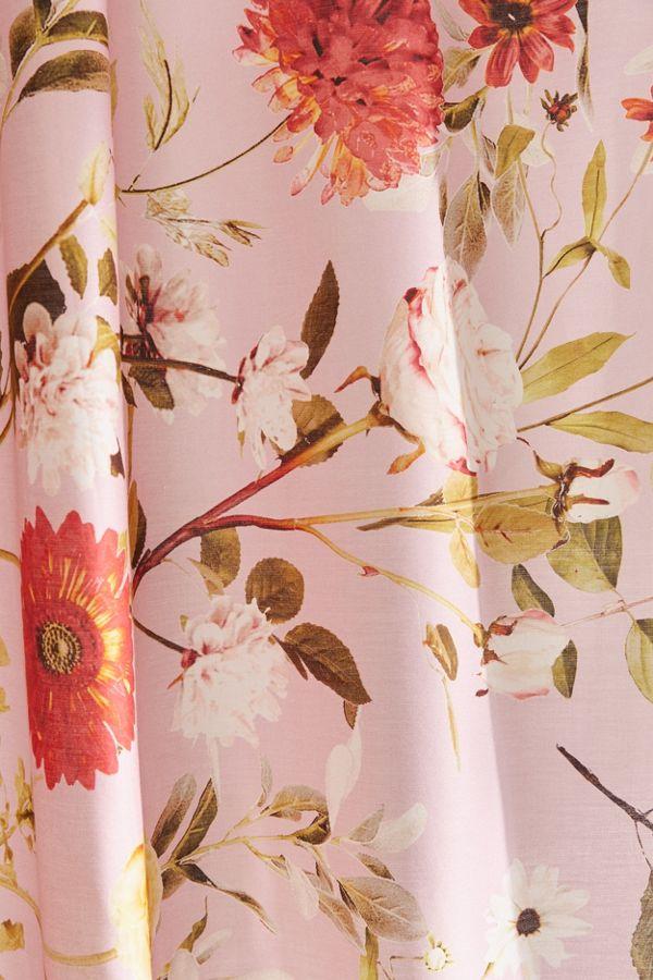 Slide View 3 Daniella Floral Shower Curtain