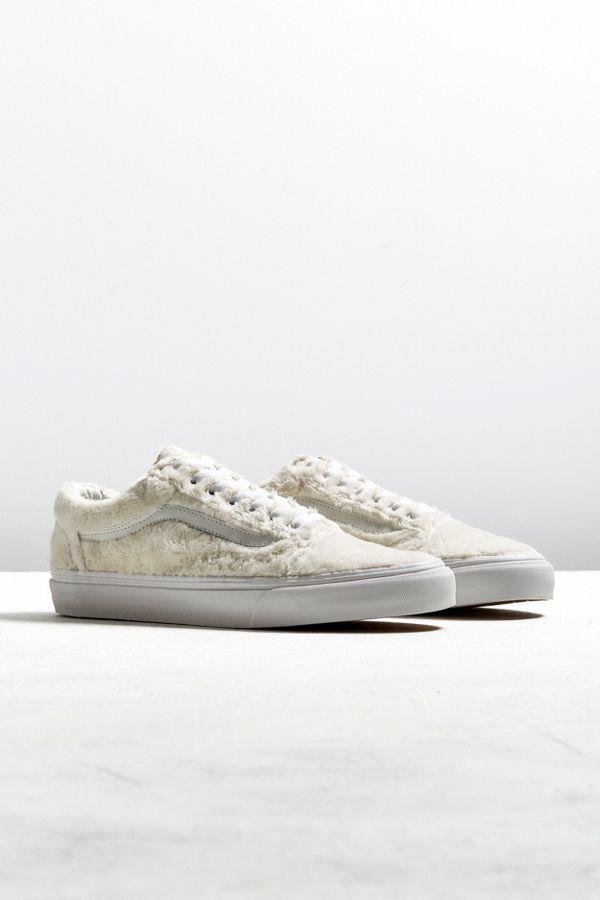 338137c55f4 Vans Old Skool Sherpa Sneaker