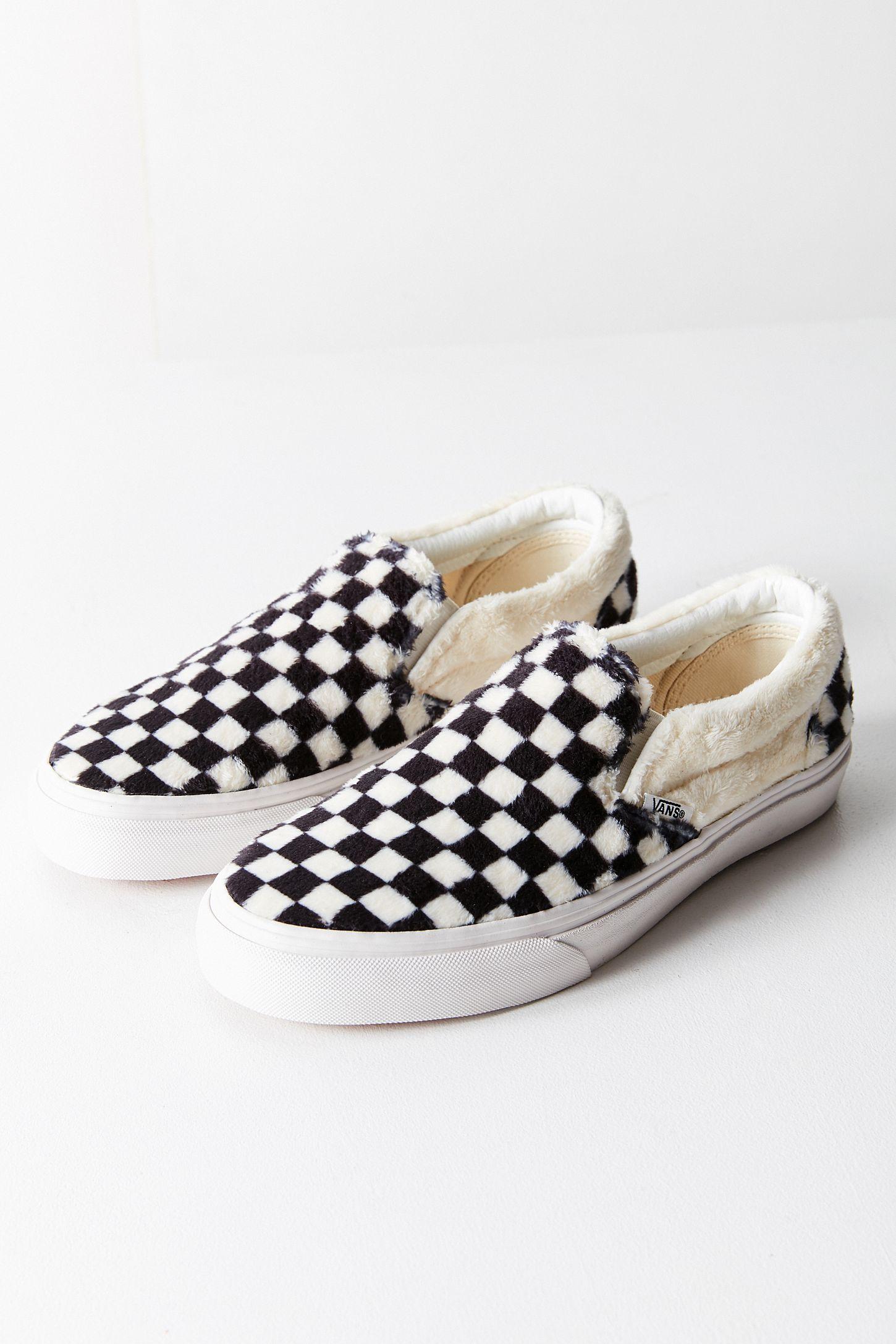 7731ab808d Vans Faux Sherpa Classic Slip-On Sneaker