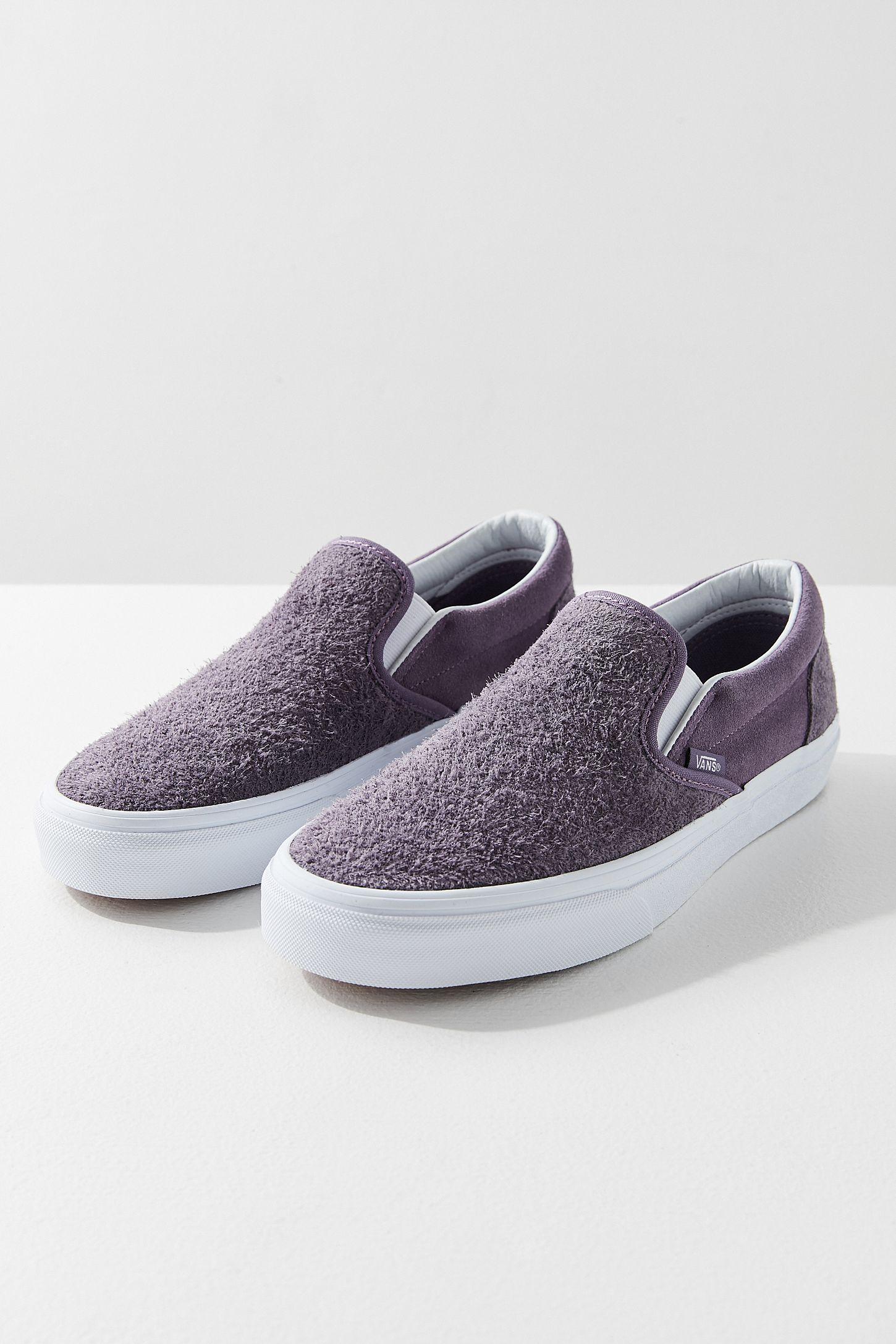 105ffa348342 Vans Hairy Suede Classic Slip-On Sneaker