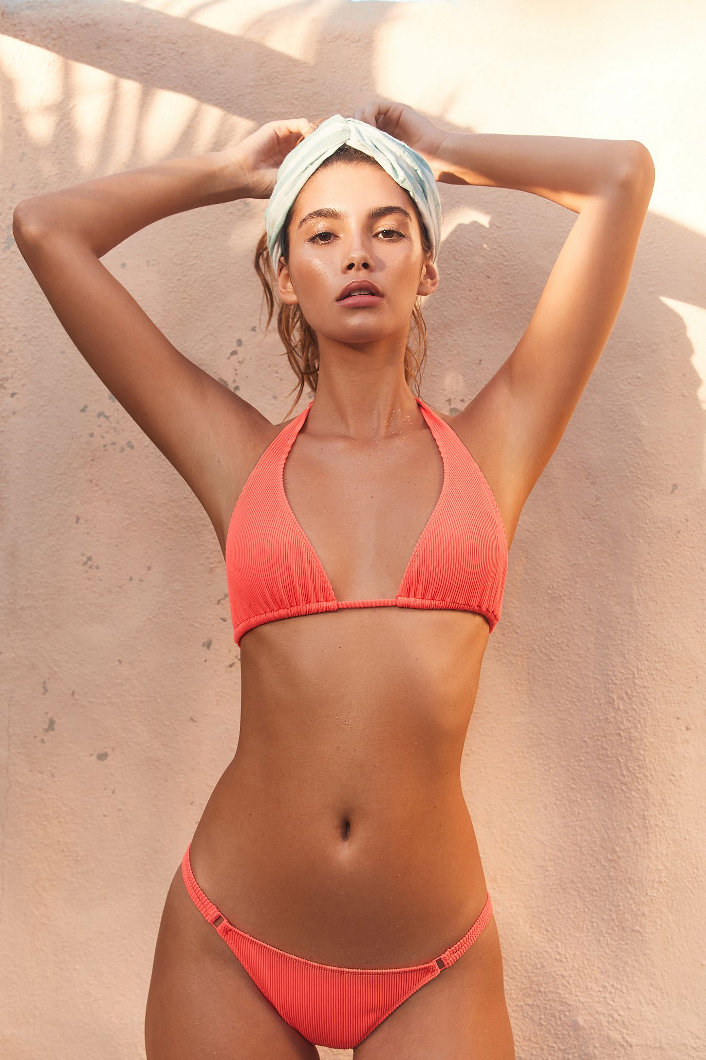 18adb716d0bf9 Out From Under Kim Ribbed Low-Rise Bikini Bottom   Urban Outfitters