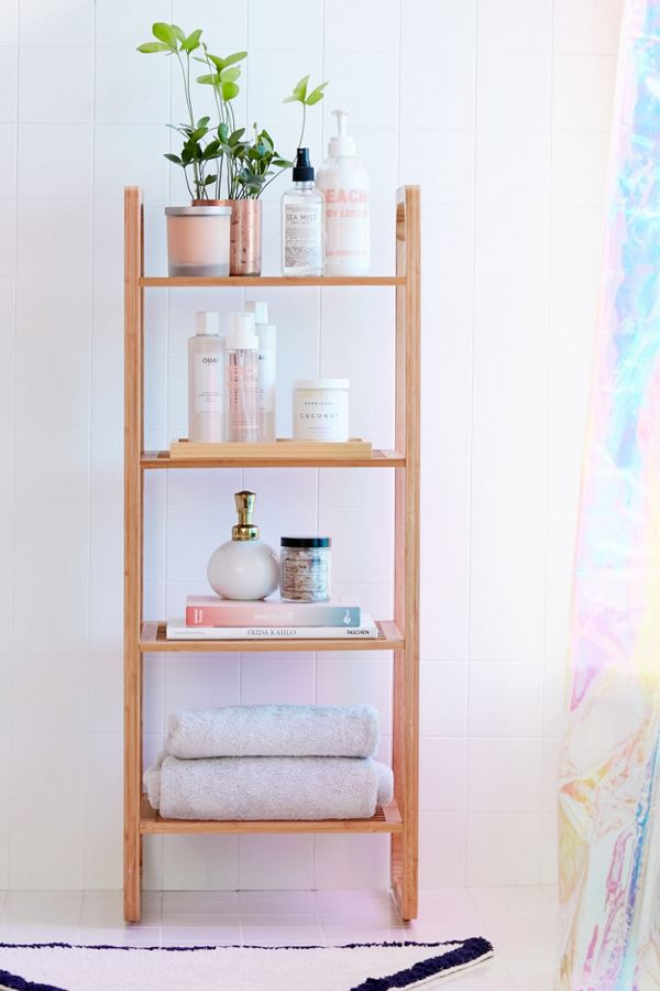 Slide View: 1: Bamboo Tiered Shelf