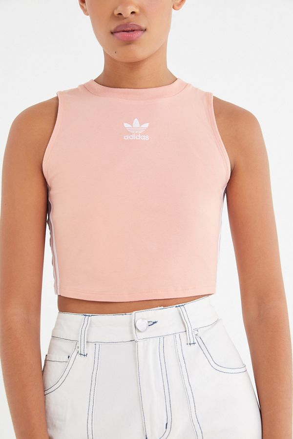72c2c60400df36 Slide View  3  adidas Originals Cropped Tank Top