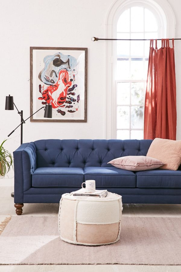 Terrific Graham Velvet Sofa Machost Co Dining Chair Design Ideas Machostcouk