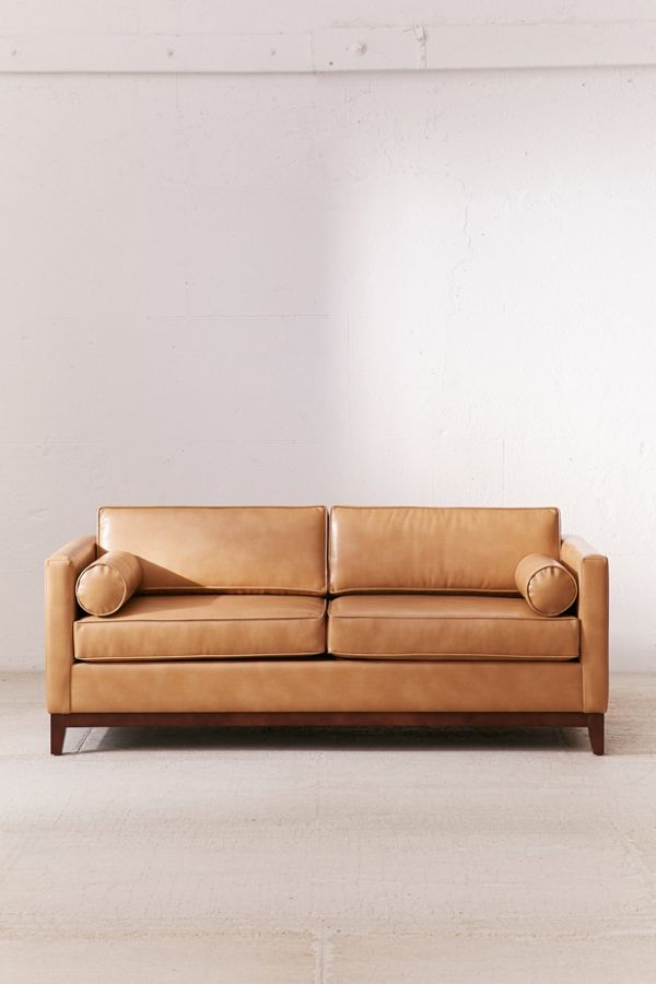 Slide View 2 Piper Pee Recycled Leather Sofa