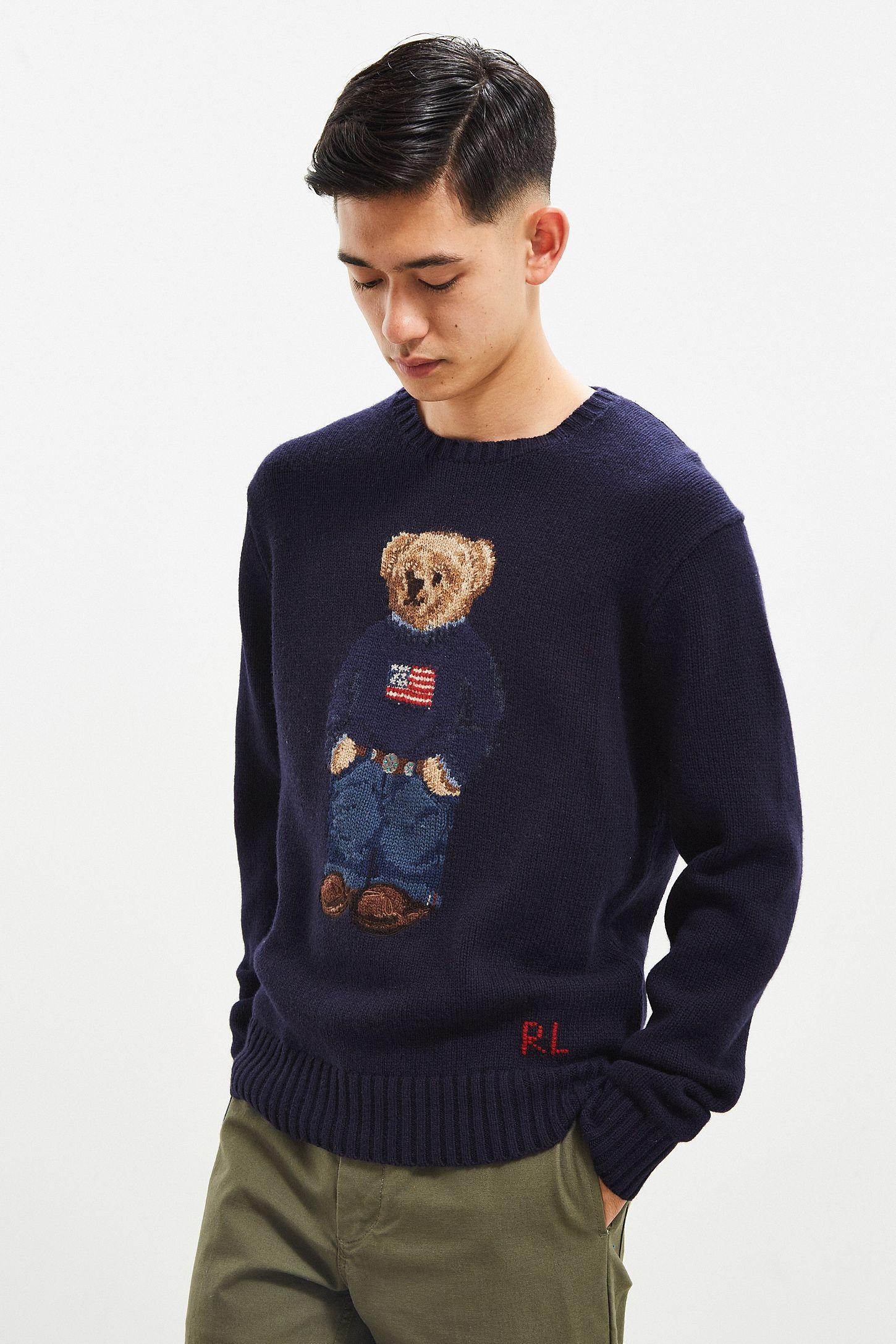 ecbc6e54e0bb8 Polo Ralph Lauren Bear Sweater