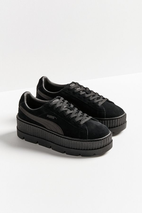 info for ed838 78866 Puma Fenty By Rihanna Suede Cleated Creeper Sneaker