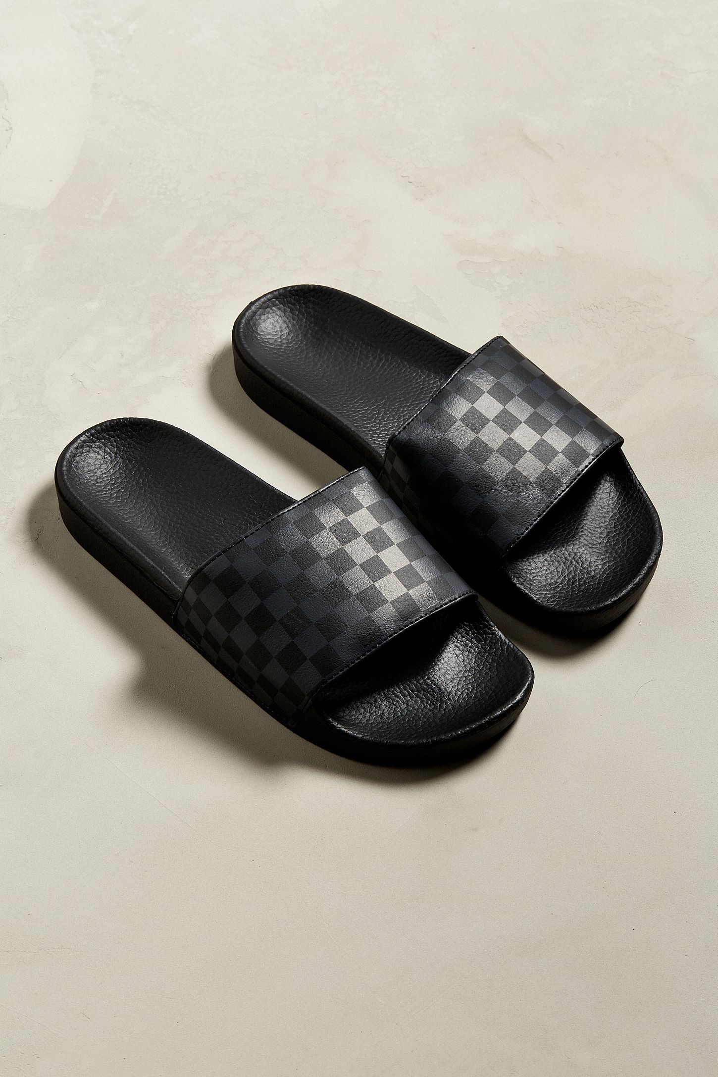 748c55a7ff92 Vans Slide-On Checkerboard Sandal