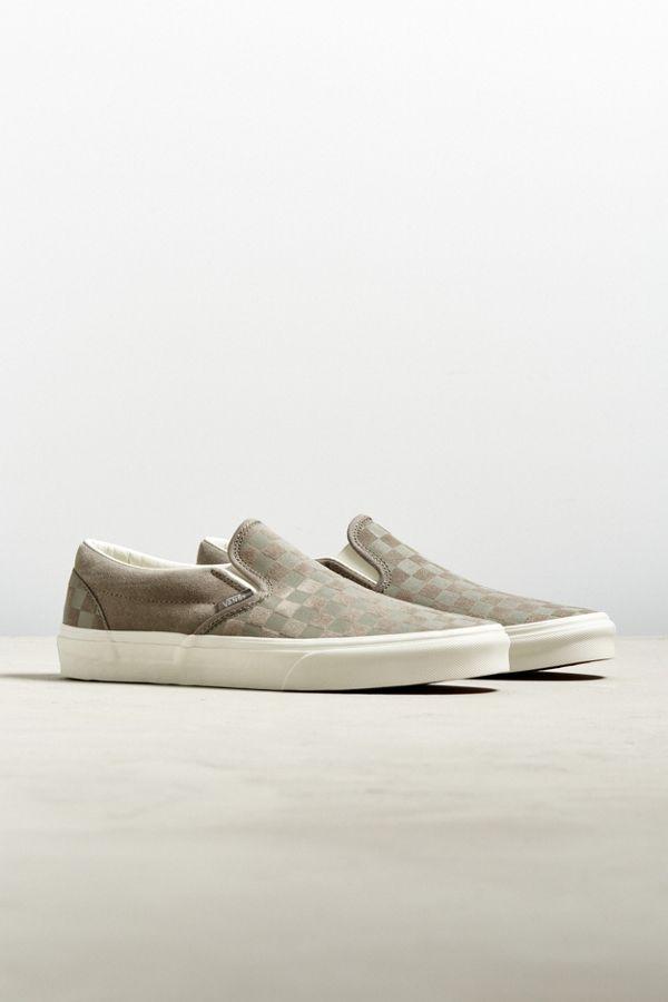 ccc4fe1a5d Vans Slip-On Checkerboard Embossed Sneaker