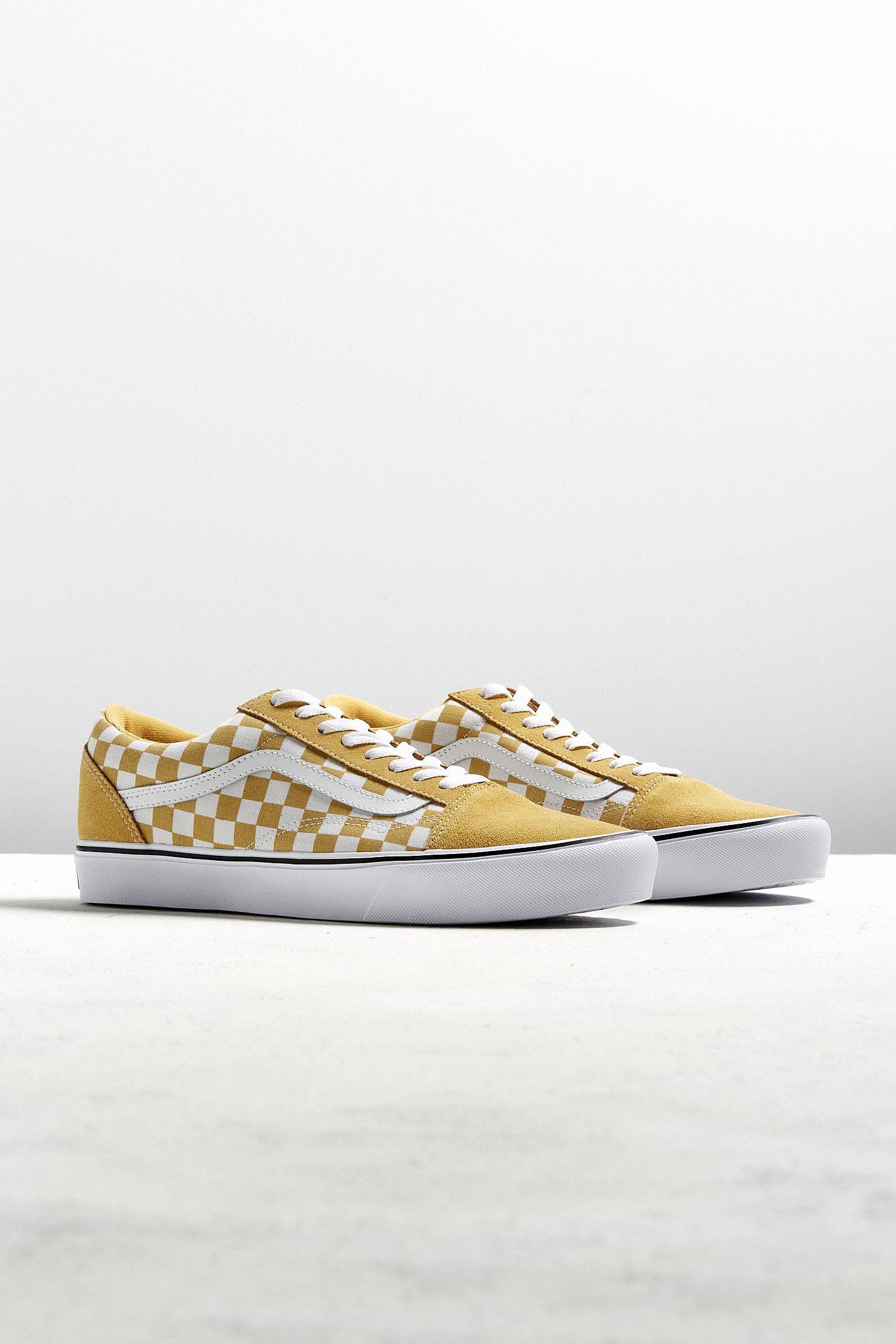 6e8b65d7e08 Vans Old Skool Lite Checkerboard Sneaker