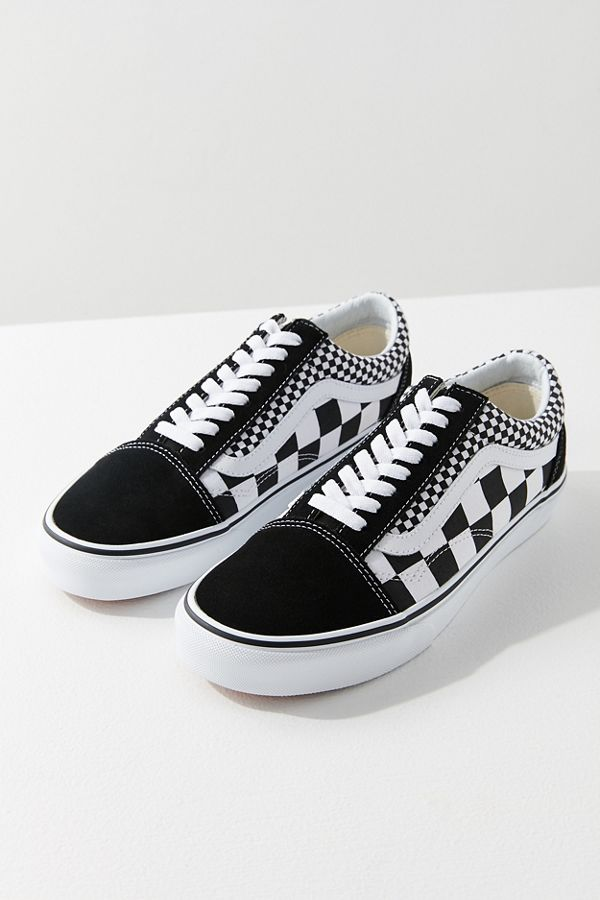 cb9f3b3c385633 Vans Mix Checkerboard Old Skool Sneaker