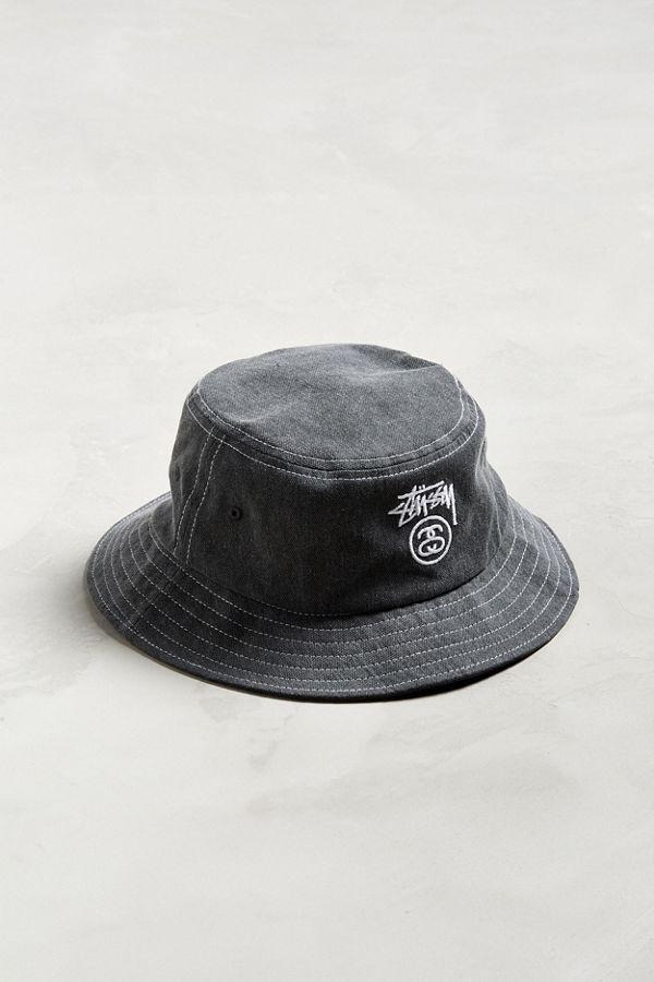 b1517a608db22 Stussy Washed Stock Lock Bucket Hat