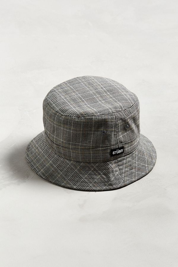 dd802d578e58b Stussy Glen Plaid Bucket Hat