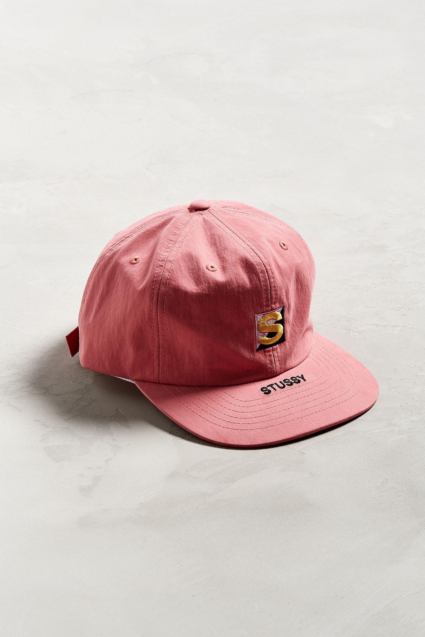 5cfca96118d Stussy Cotton Nylon Strapback Hat