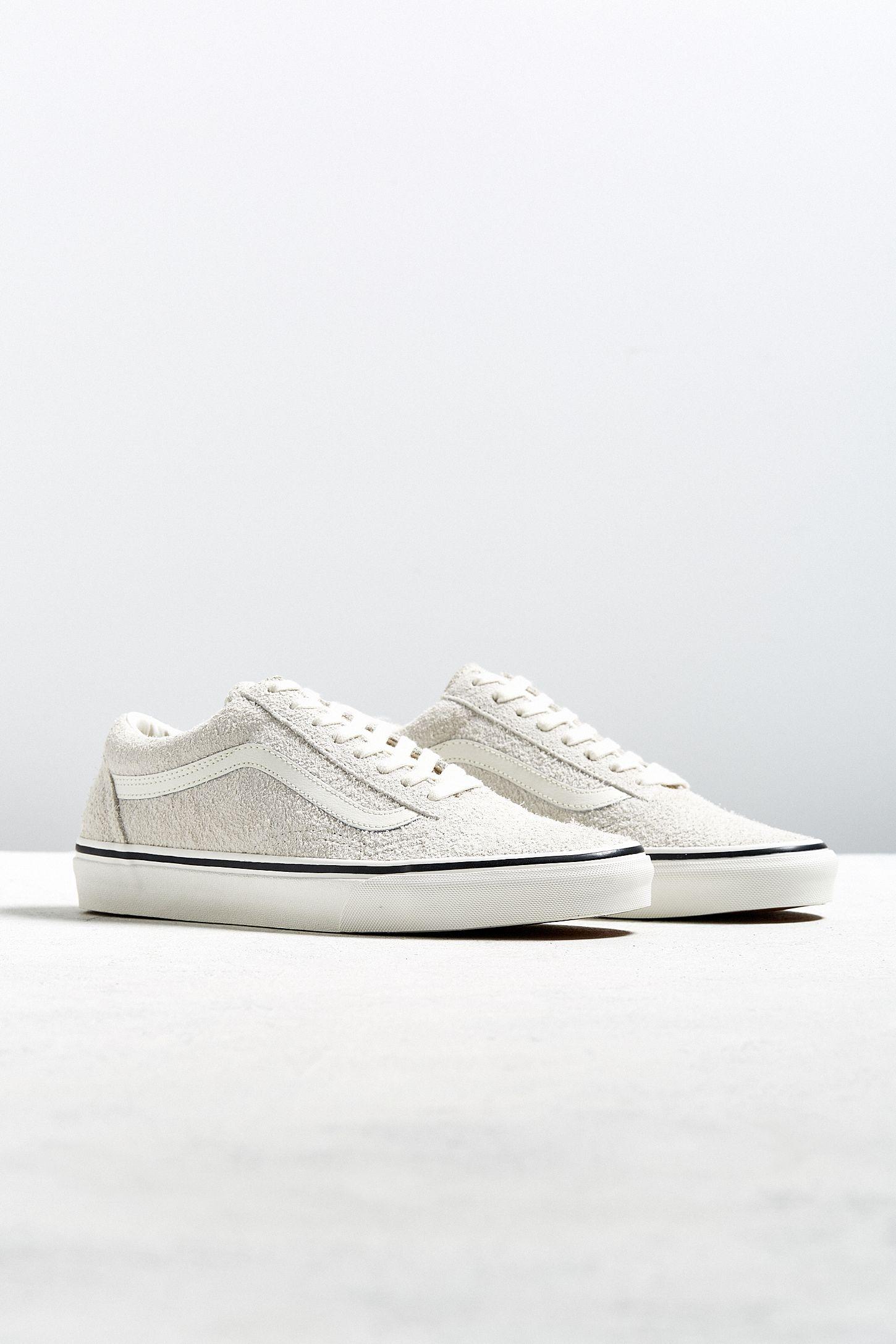 7aa44d51ca Vans Old Skool Birch Fuzzy Sneaker