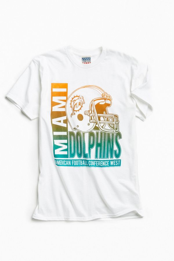 best sneakers 08d56 703dc Junk Food Miami Dolphins 2017 Tee