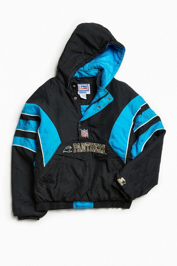 sports shoes 6c581 b34c7 Vintage Pro Line Starter Carolina Panthers Anorak Jacket