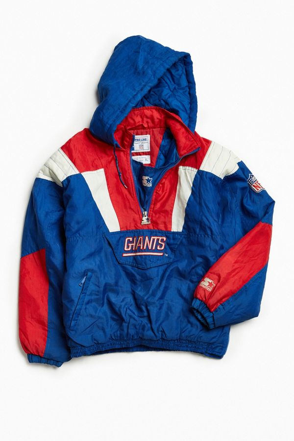 outlet store aa106 8148b Vintage Starter New York Giants Anorak Jacket