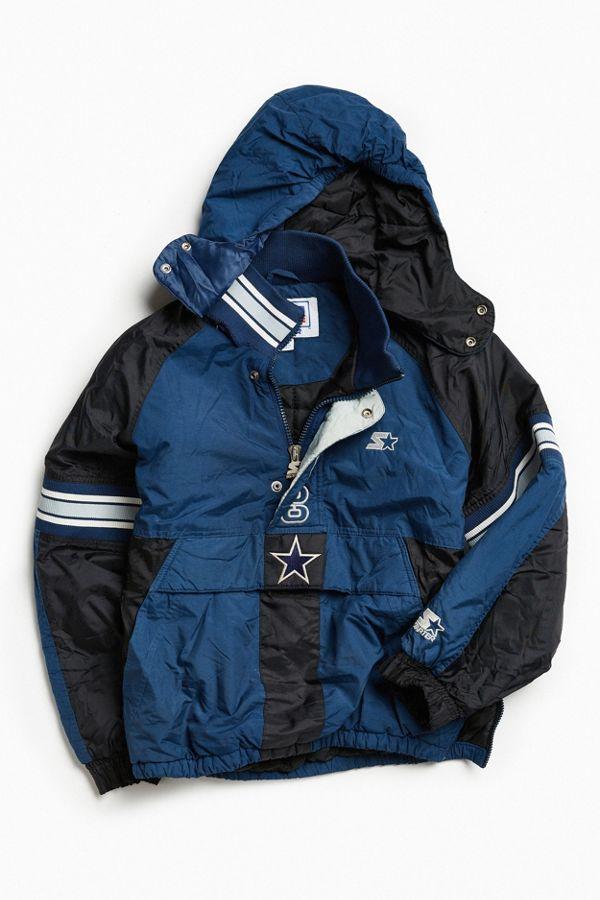online store a8372 9a612 Vintage Starter Dallas Cowboys Anorak Jacket