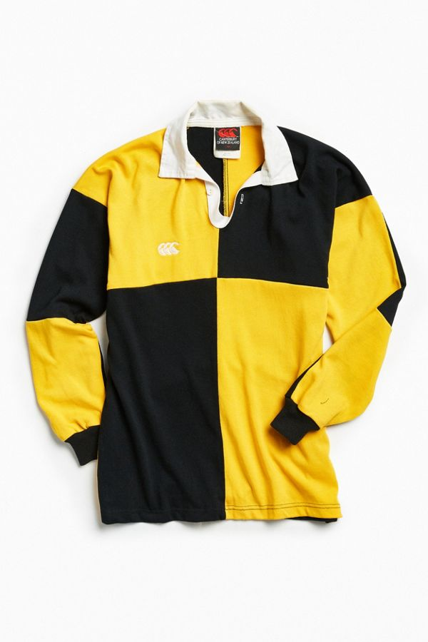 7387841568b Vintage Canterbury Of New Zealand Rugby Shirt | Urban Outfitters