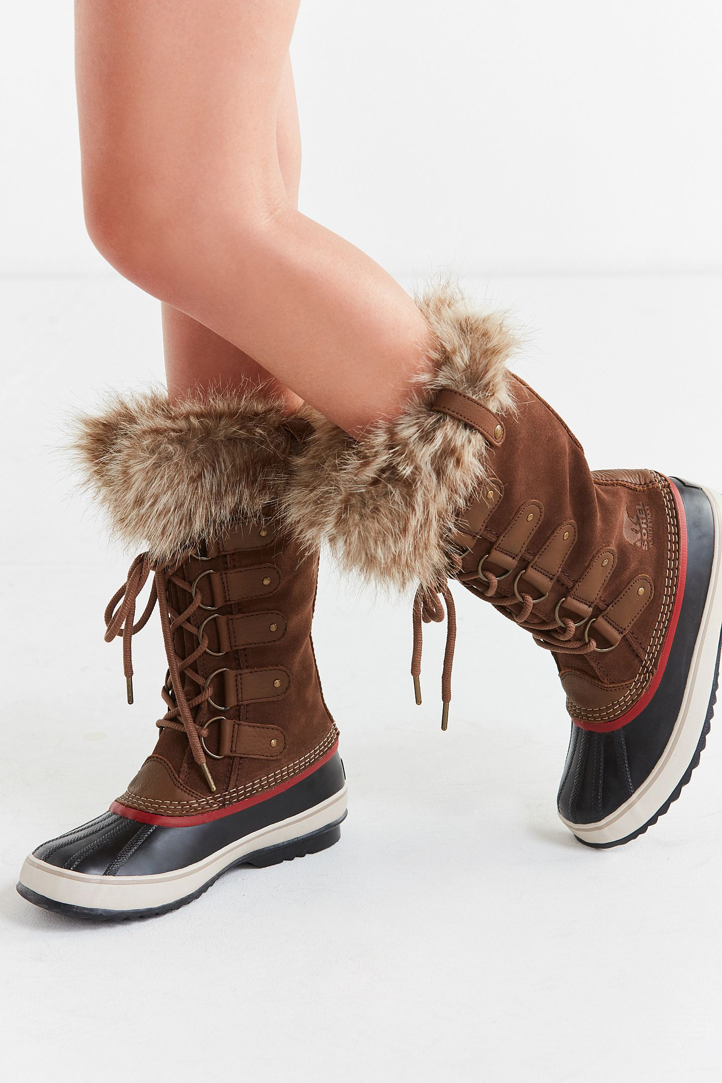 finest fabrics best loved running shoes Sorel Joan Of Arctic Suede Boot