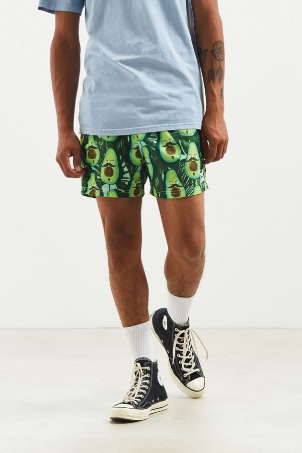 5ab0954852108 Costello Angry Avocado Swim Trunk | Urban Outfitters