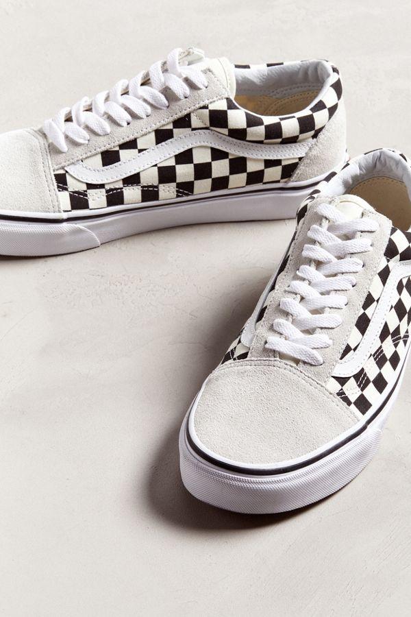 ee28cc7c2fed77 Slide View  2  Vans Old Skool Checkerboard Sneaker