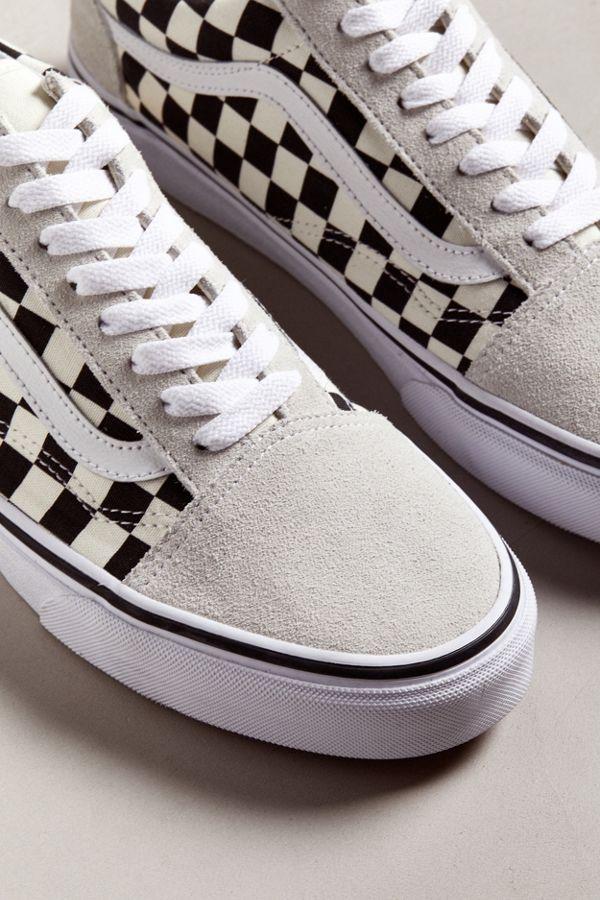 3323f2013306c2 Slide View  4  Vans Old Skool Checkerboard Sneaker