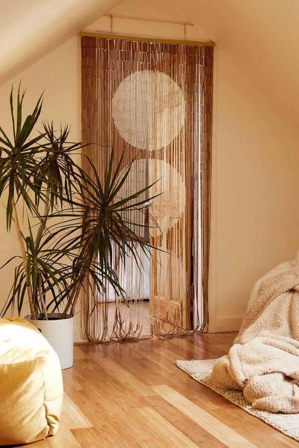 Slide View 1 Big Dot Bamboo Beaded Curtain