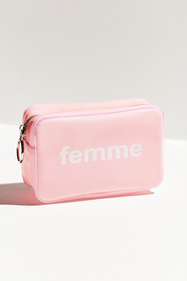 Large Jelly Makeup Bag Urban Outfitters
