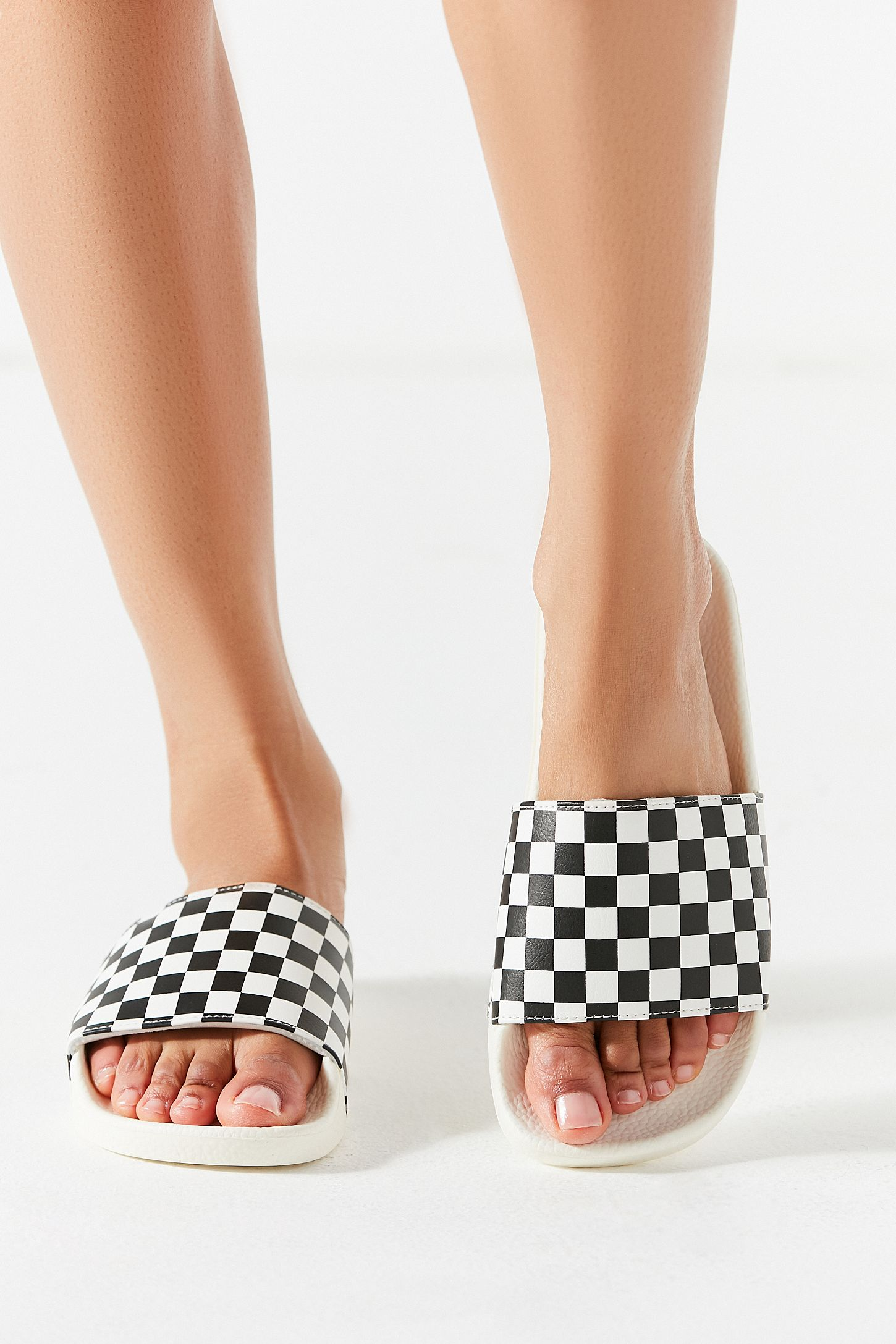 297d0acb6b Vans Checkerboard Slide