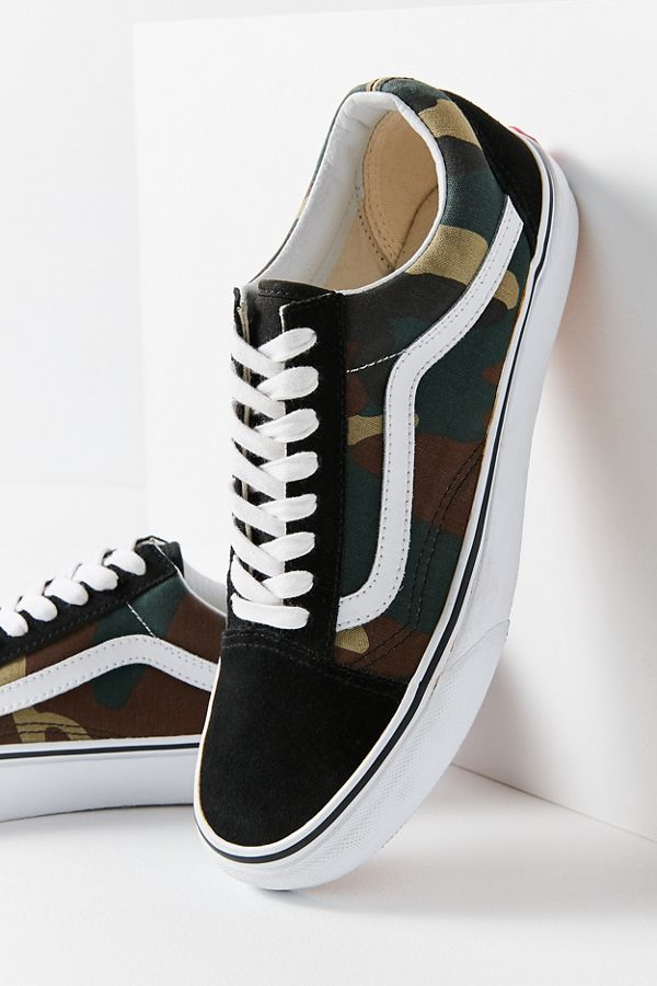 3a9942cd8c263 Vans Woodland Camo Old Skool Sneaker | Urban Outfitters