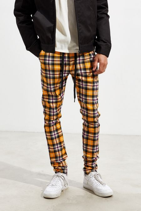 7b0c6d7c71472 Extended Sizes Available. UO Tartan Skinny Pant