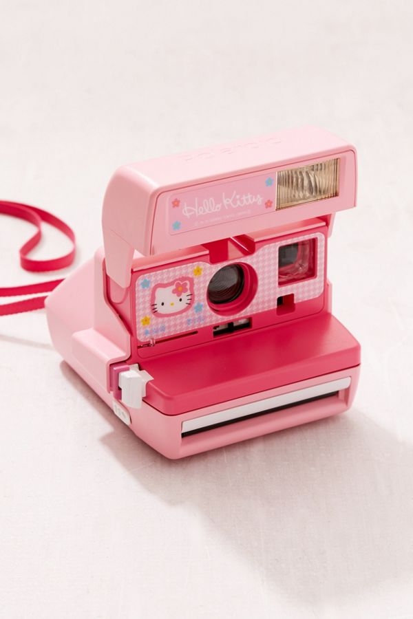 Polaroid Originals Refurbished Hello Kitty 600 Instant Camera