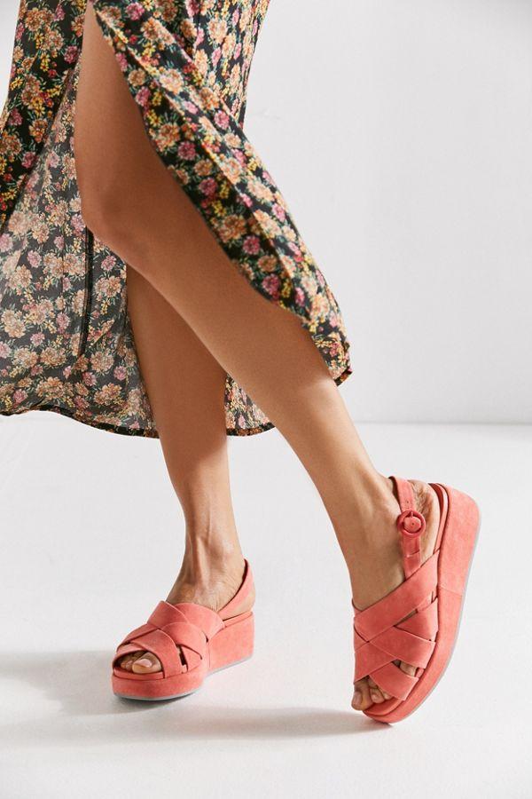 cedbb9c00367 Camper Misia Flatform Sandal