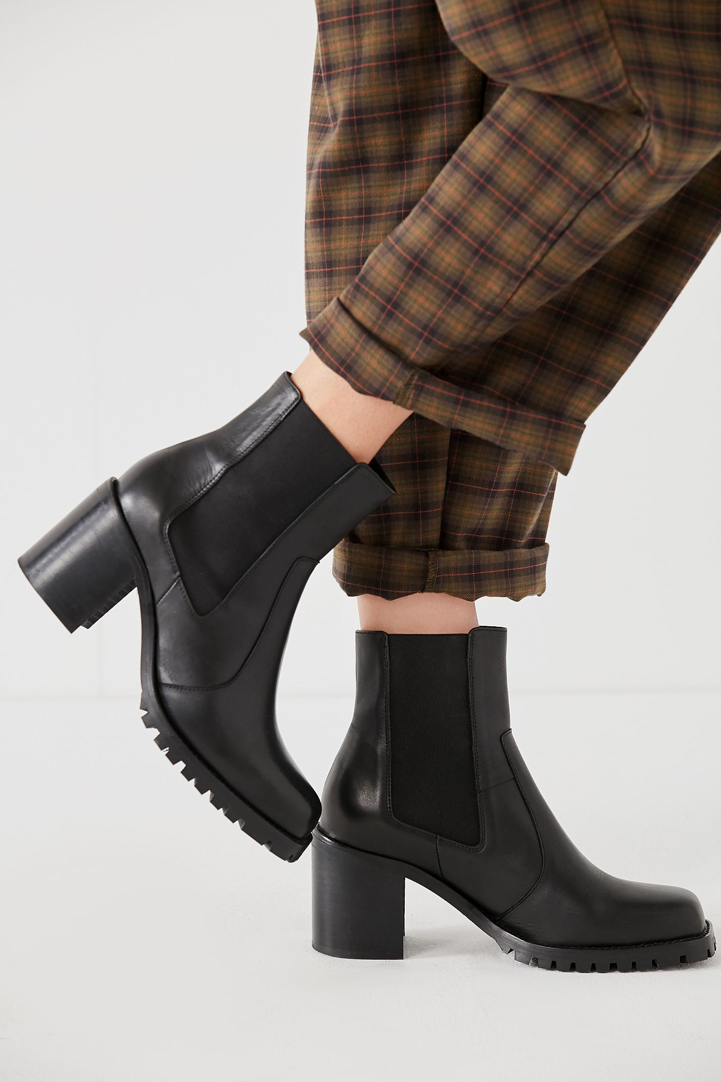 0a6c139ad86 Beth Square Toe Chelsea Boot