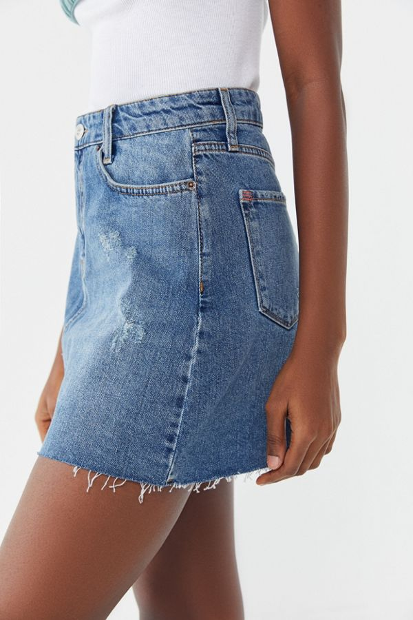 04f6223624 BDG Re-Made Denim Mini Skirt | Urban Outfitters