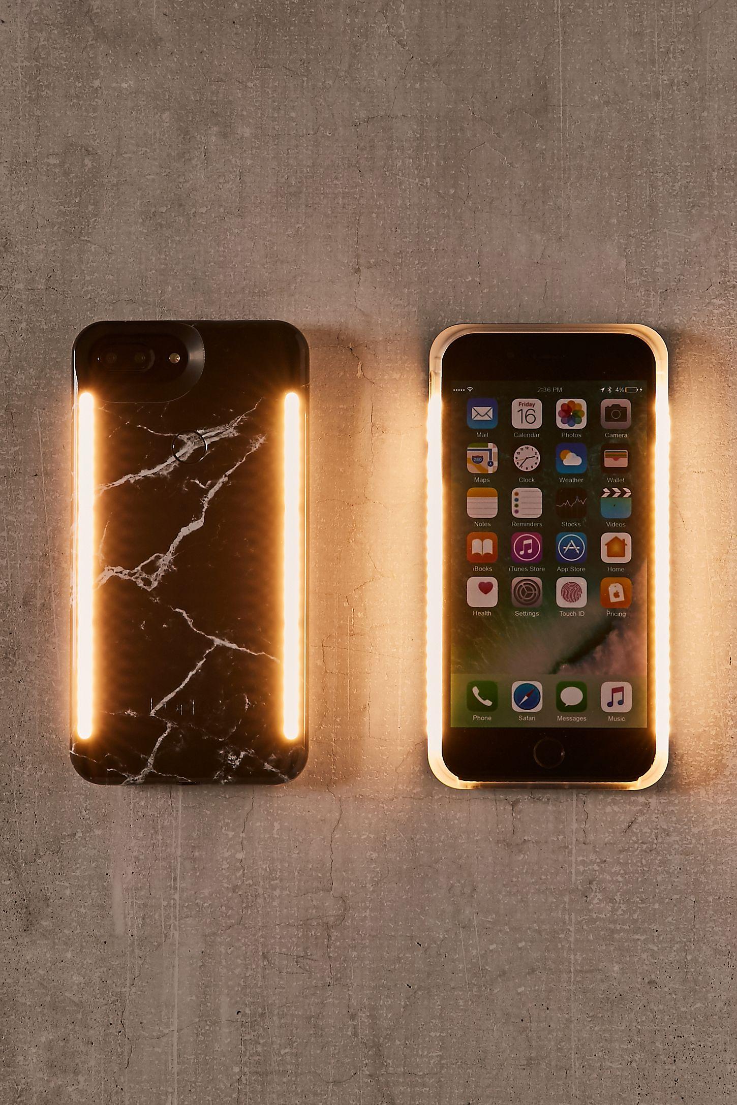 separation shoes 09ebd de7c8 LuMee Duo Black Marble iPhone 8/7/6/6s Plus Case