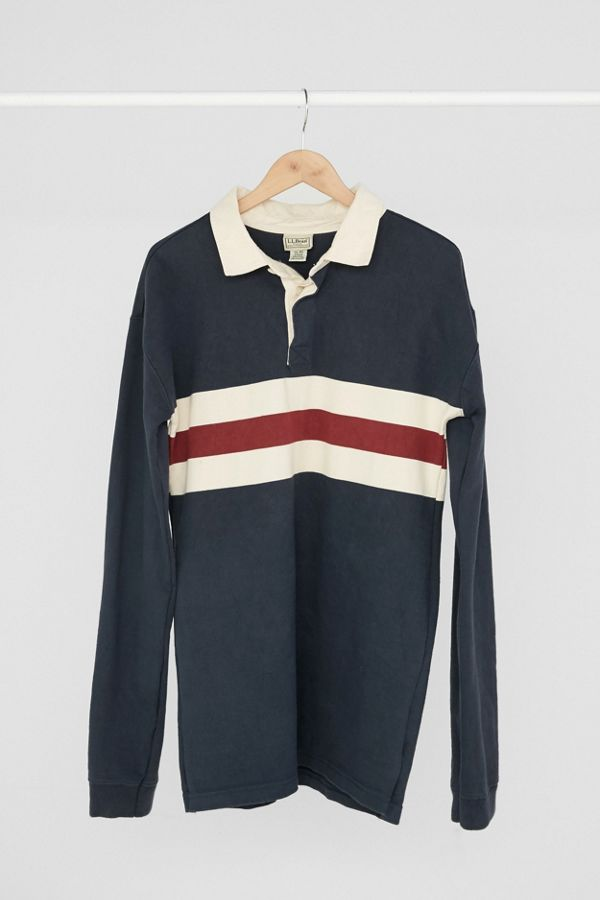 ff71f645 Vintage L. L. Bean '90s Navy + Red Rugby Dress | Urban Outfitters