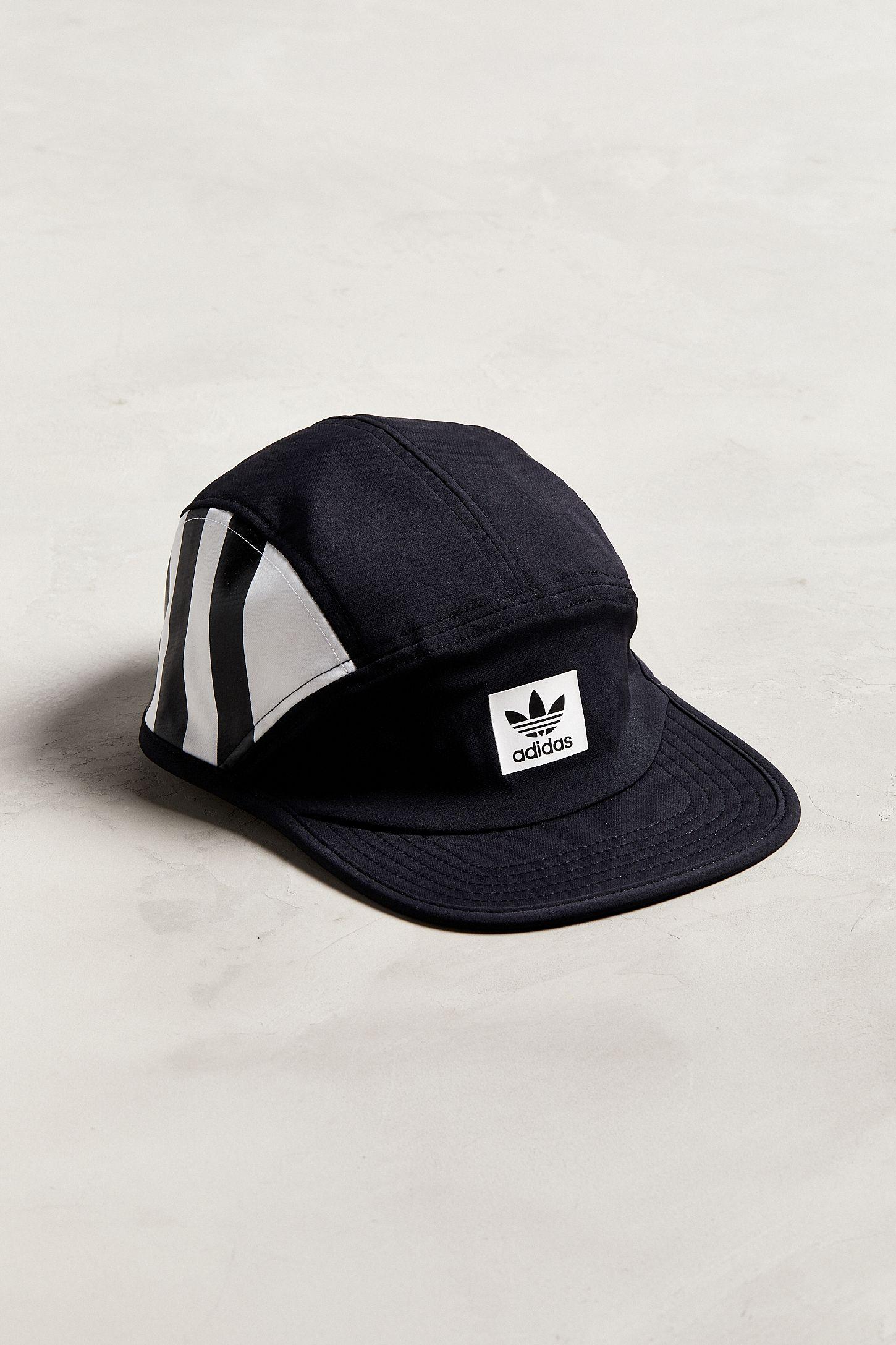 7229150b70d adidas Originals Three-Stripes Camper Hat