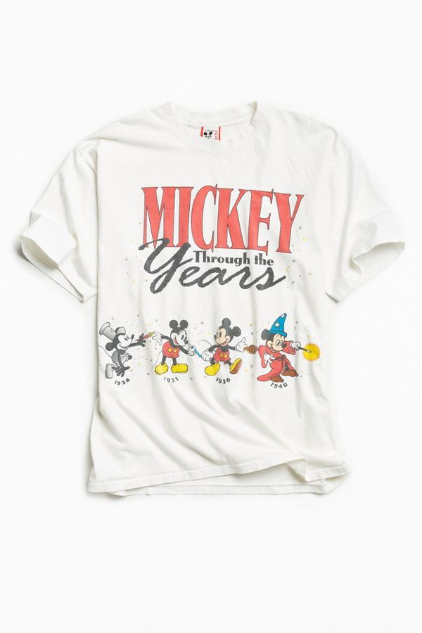667c871263ae38 Vintage Disney Mickey Mouse Years Tee | Urban Outfitters