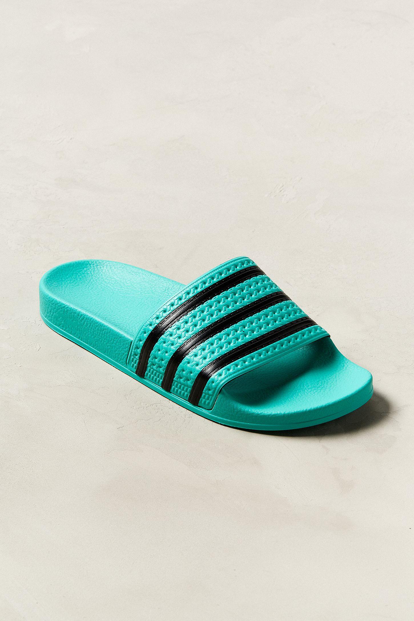 d6c44790c6a5a adidas Adilette Colorful Slide Sandal