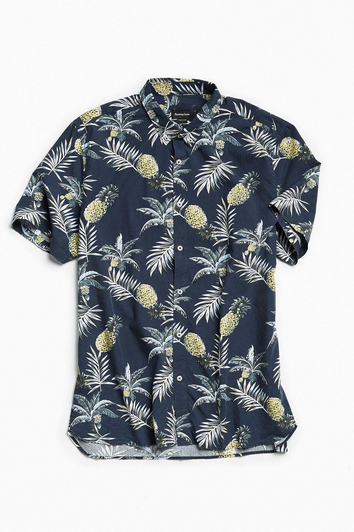 b0bb4c22c8 Barney Cools Black Floral Short Sleeve Button-Down Shirt