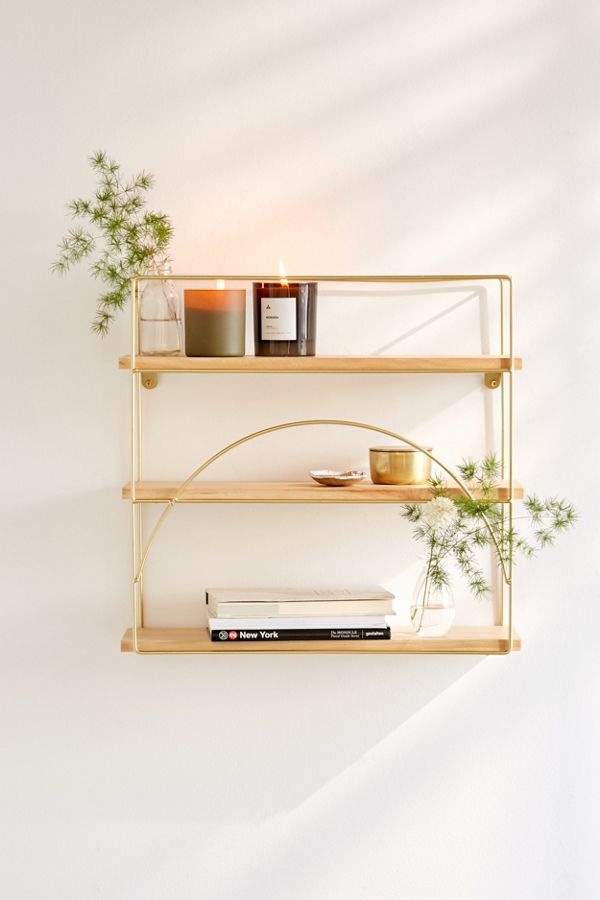 Slide View: 2: Lauren Wall Shelf