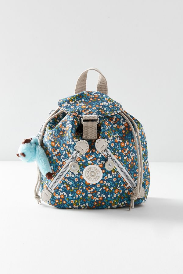 Kipling X UO Fundamental Mini Floral Backpack