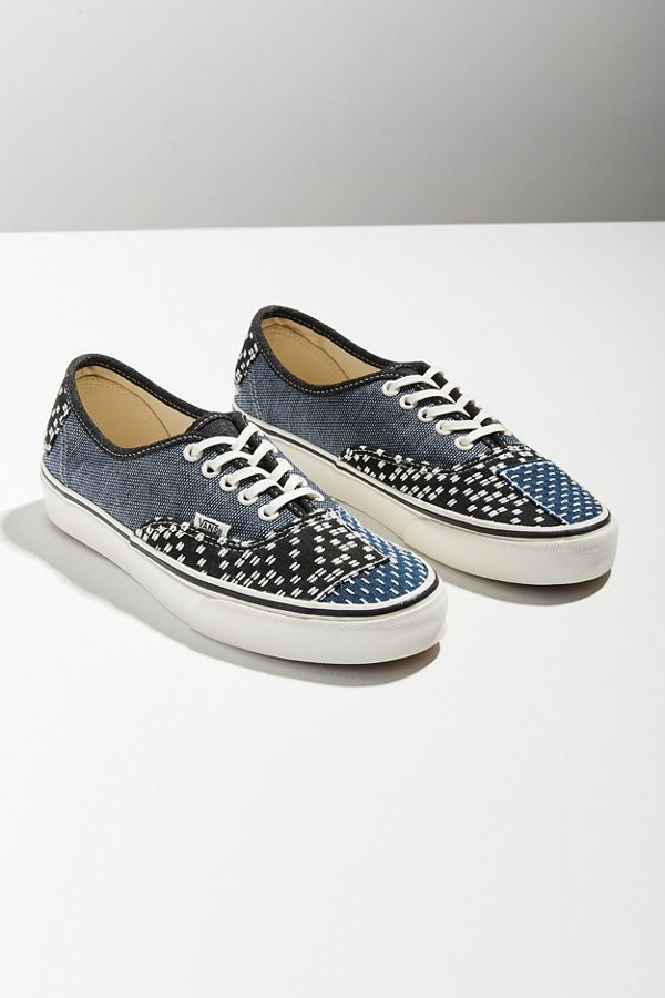 98572ffa34e Vans Authentic Patchwork Denim Sneaker