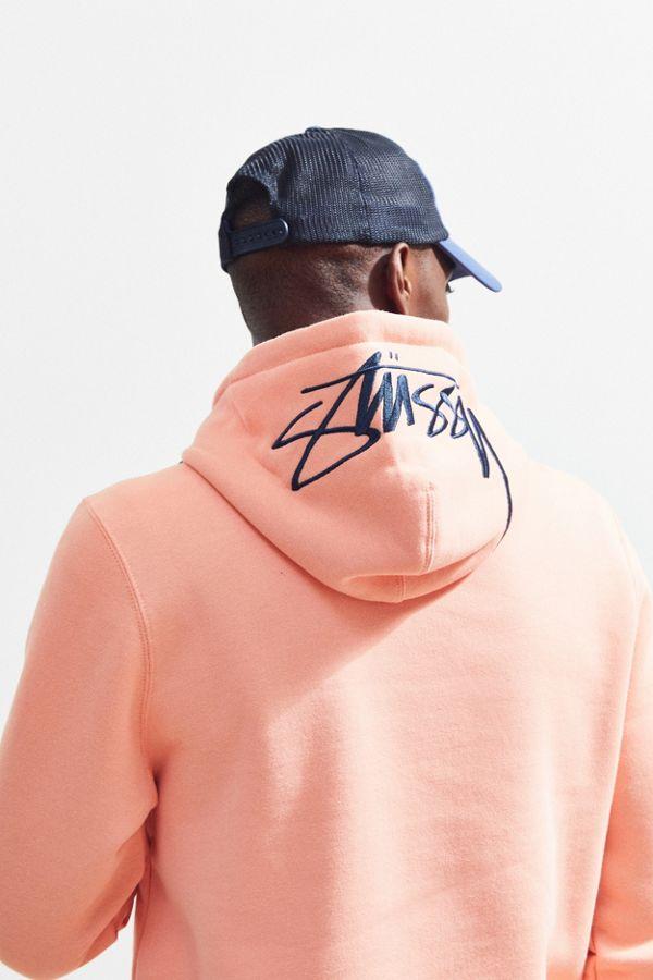 d6ffc16167996a Stussy Stock Applique Hoodie Sweatshirt
