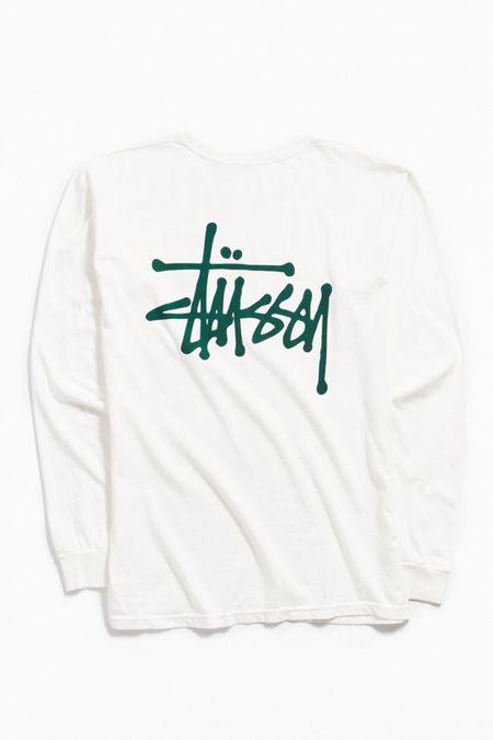 13a42676072 Stussy Logo Long Sleeve Tee